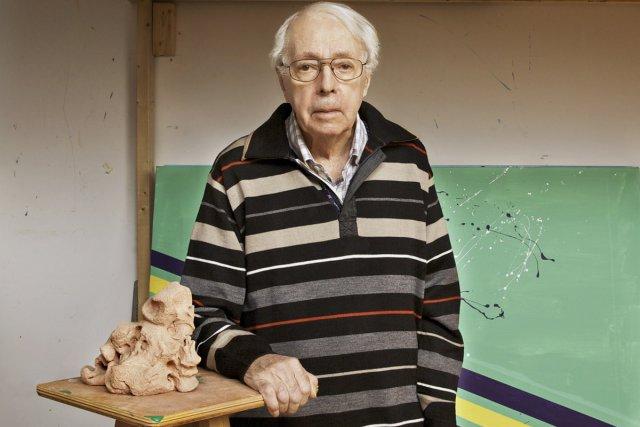 Marcel Barbeau a remporté le Prix  Louis-Philippe-Hébert... (Photo: archives La Presse Canadienne)