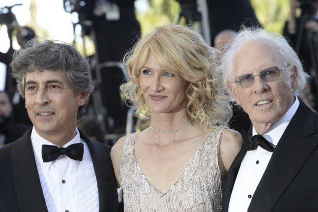 Le réalisateur Alexander Payne (à gauche) en compagnie... (Photo: AFP)