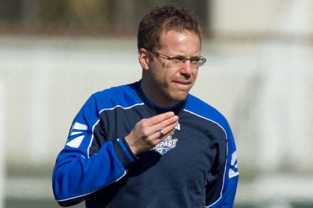 L'ancien entraîneur de l'Impact Marc Dos Santos.... (Photo Hugo-Sébastien Aubert, archives La Presse)