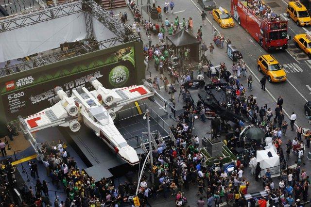 Le vaisseau est composé de plus de 5,3... (Photo Shannon Stapleton, Reuters)