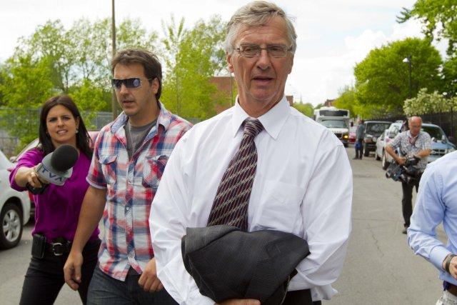 L'avocat Jean Bertrand, arrêté par l'UPAC.... (PHOTO ALAIN ROBERGE, LA PRESSE)