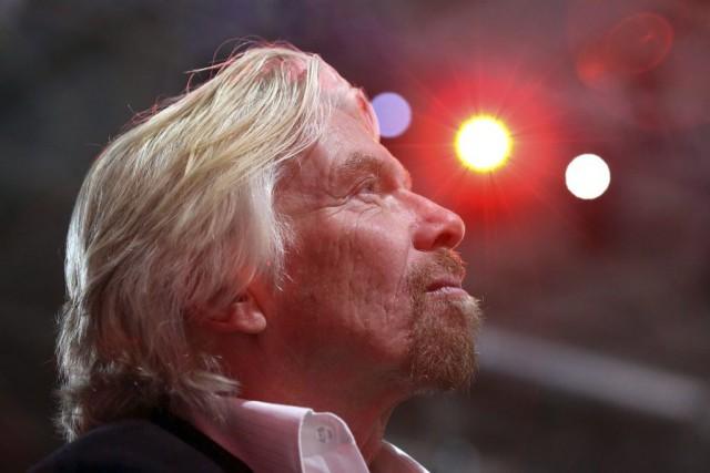 Richard Branson,patron du groupe Virgin... (PHOTO Andrey Rudakov, archives Bloomberg)
