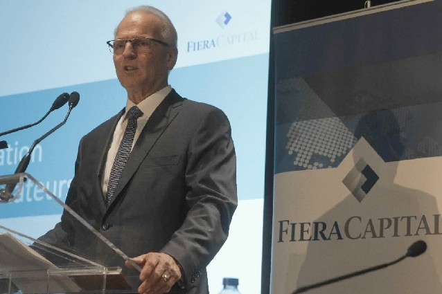 Jean-Guy Desjardins, PDG de Fiera Capital....