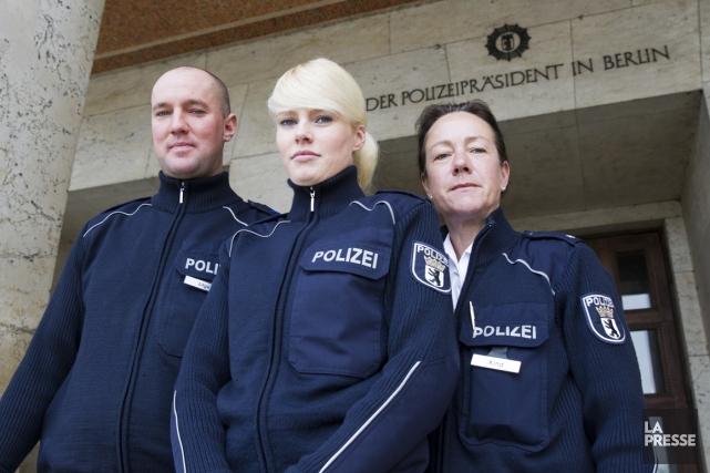Marc Lilge, Sophie Seyfert et Gabriela Kind.... (Photo Olivier Jean, La Presse)