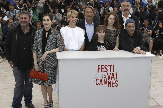 Sergi Lopez, Amira Casar, Delphine Chuillot, Mads Mikkelsen,... (VALERY HACHE)