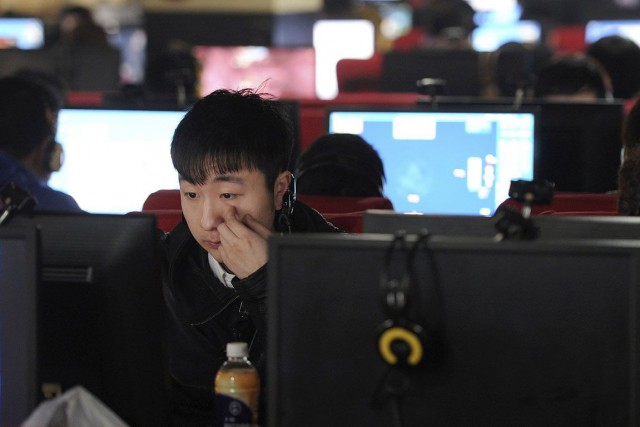 La Chine a connu mardi une vaste interruption de l'internet, le trafic web... (Photo archives Reuters)