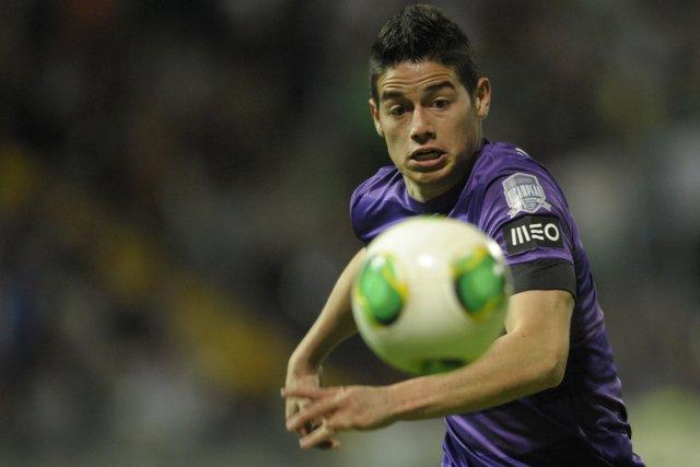 Les droits sportifs de James Rodriguez, ailier de... (Photo : Miguel Riopa, archives AFP)