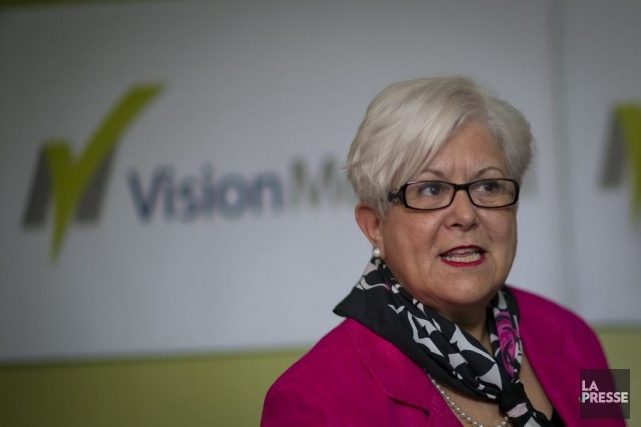 Louise Harel, chef de Vision Montréal.... (Photo André Pichette, Archives La Presse)