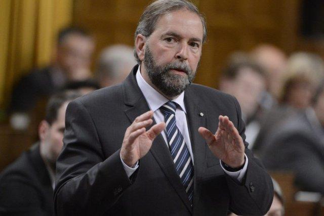 Le Nouveau Parti démocratique accuse le gouvernement de... (Photo Adrian Wyld, La Presse Canadienne)