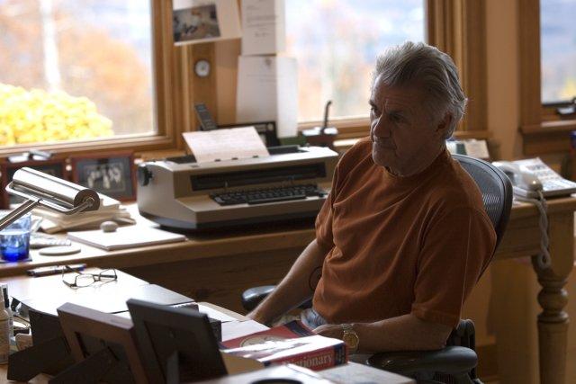 L'écrivain John Irving dans sa maison de Dorset... (Photo: archives La Presse)