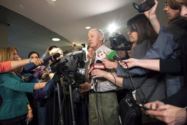 Le maire suppléant de Toronto Doug Holyday a... (Photo BRETT GUNDLOCK, Reuters)