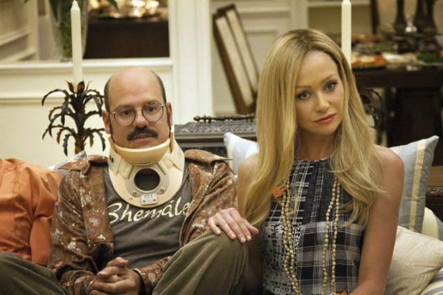 David Cross et Portia de Rossi dans une... (Photo: AP)