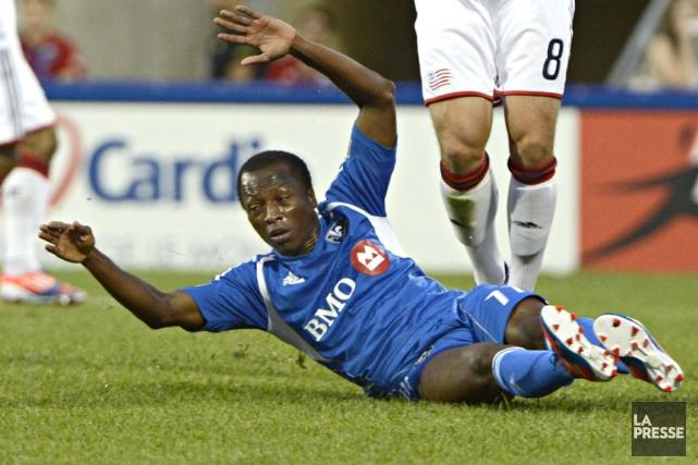 Sanna Nyassi... (Photo : Bernard Brault, archives La Presse)