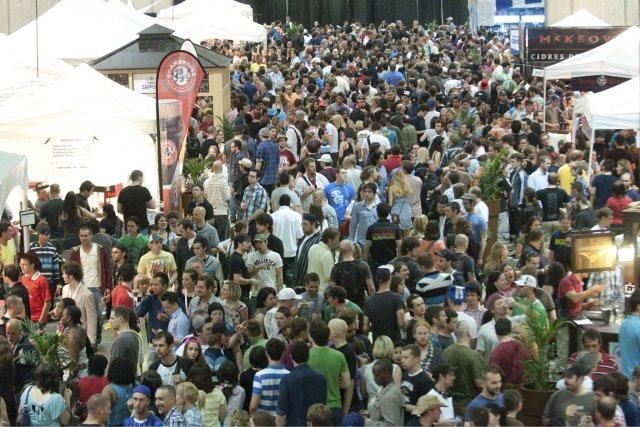 Depuis deux ans, le Mondial de la bière... (Photo fournie par le Mondial de la bière)