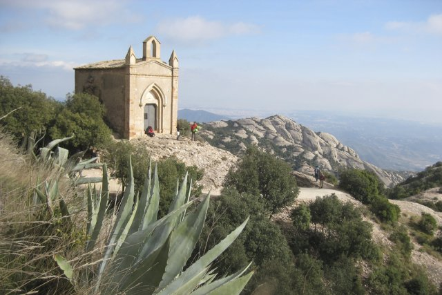 La Chapelle de Sant Joan offre un panorama... (Photo Michel Laliberté, collaboration spéciale)