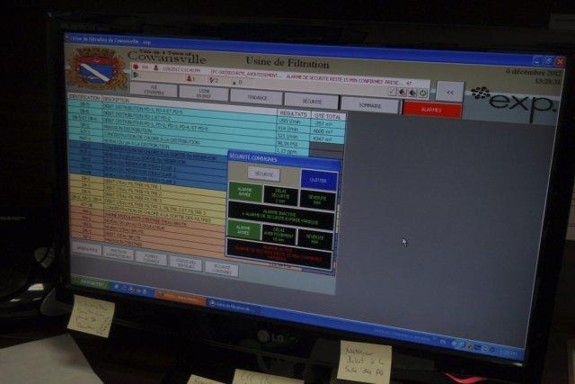 Cowansville a développé un système pour surveiller ses... (photo courtoisie)