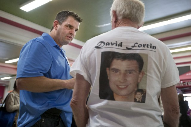 Éric Fortin, le père de David Fortin, disparu... (Photo Robert Skinner, La Presse)
