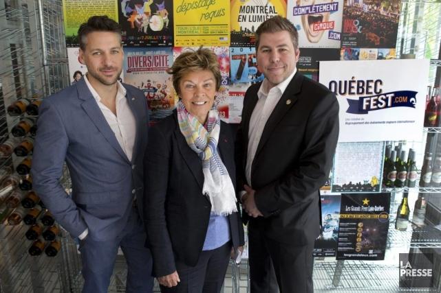 La présidente du conseil d'administration du RÉMI, Louise... (Photo Robert Skinner, La Presse)