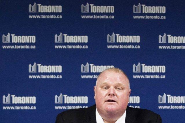 Rob Ford a esquivé toute la semaine les... (Photo Reuters)