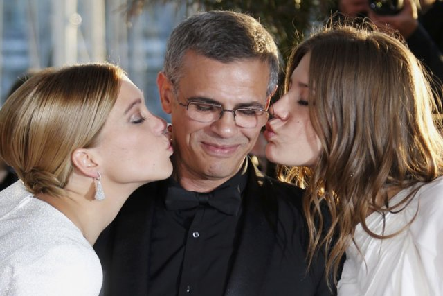 Abdellatif Kechiche a remporté la Palme d'or pour La... (Photo: Reuters)