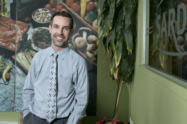 Éric Lavallée, directeur des ventes chez Aliments Sardo.... (PHOTO HUGO-SÉBASTIEN AUBERT, LA PRESSE)