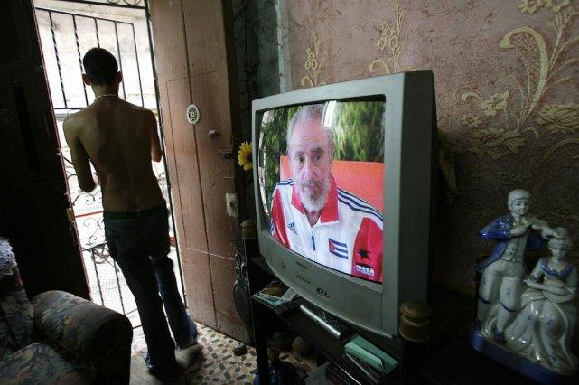 Cuba va entamer en juin ses premiers tests de télévision numérique terrestre... (Photo Claudia Daut, REUTERS)