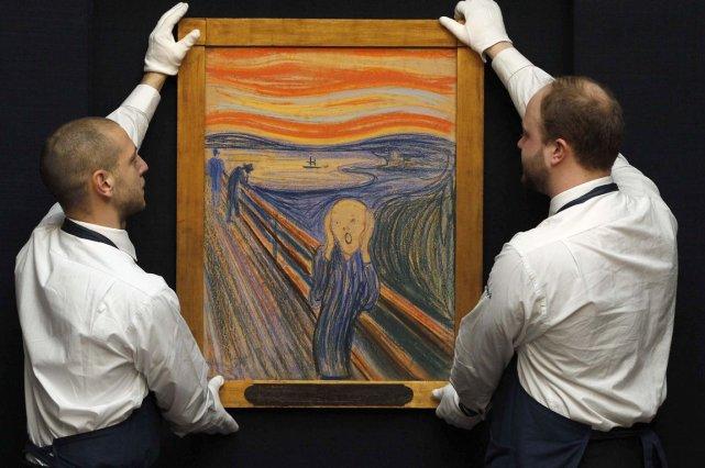 Le cri d'Edvard Munch.... (Reuters)
