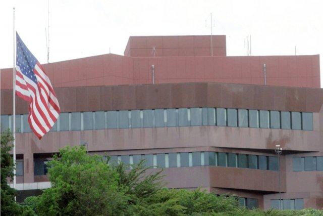 L'ambassade des États-Unis à Caracas.... (PHOTO ARCHIVES AP)