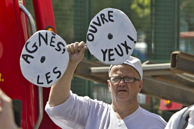 Près de      ... (Photo: Patrick Sanfaçon, La Presse)