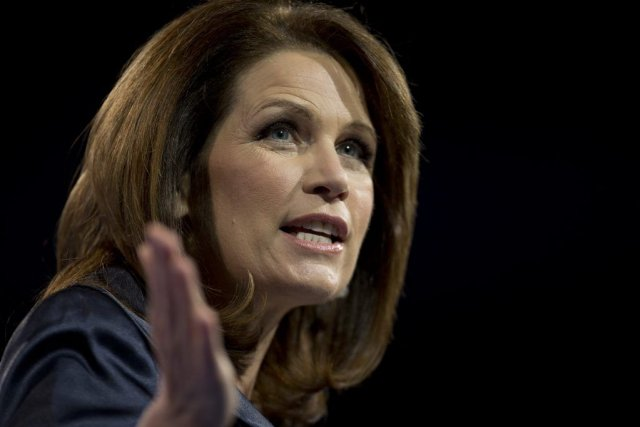 Michele Bachmann... (Photo AFP)