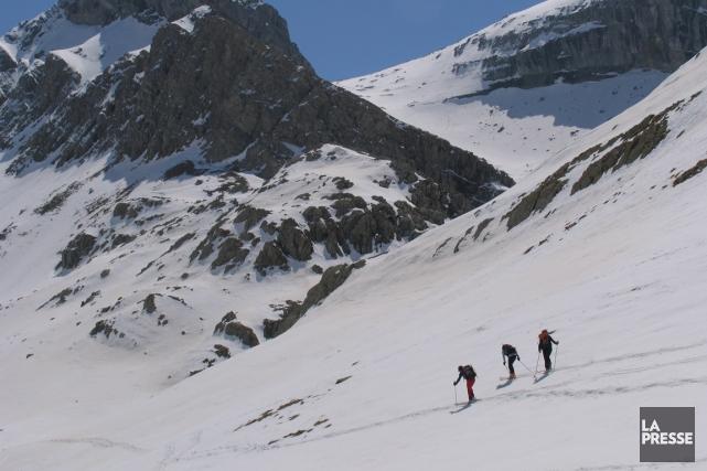 La fréquentation sera limitée à 600 skieurs par... (PHOTOTHÈQUE LA PRESSE)