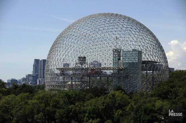 La Biosphère, le musée de l'environnement de l'île... (Photo: Bernard Brault, archives La Presse)