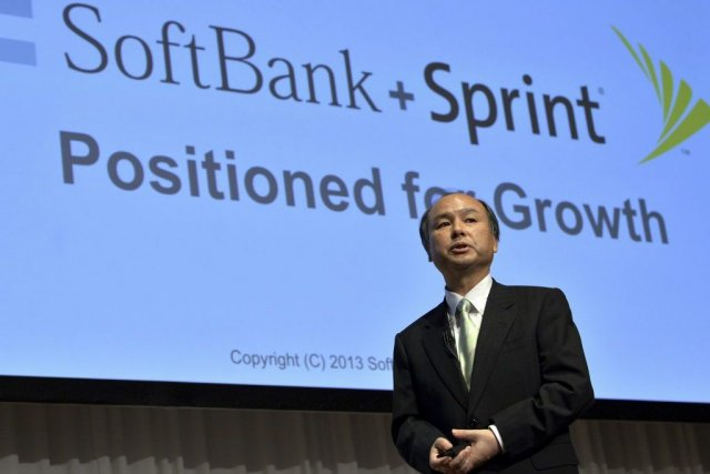 Le président de Softbank, Masayoshi Son.... (PHOTO YOSHIKAZU TSUNO, AFP)
