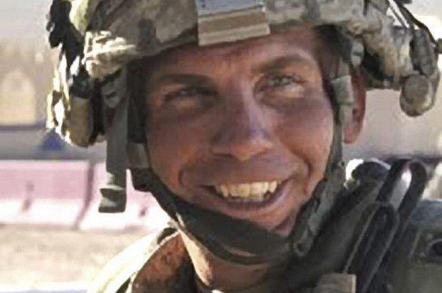 Robert Bales lors d'exercices militaires en Californie, en... (Photo fournie à l'AP)