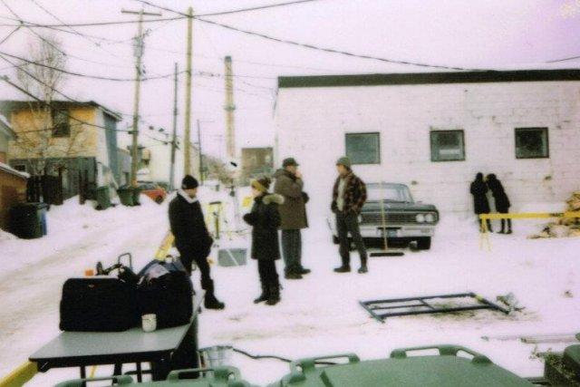 Sur le plateau de tournage du film Chasse... (Photo: tirée de Facebook)