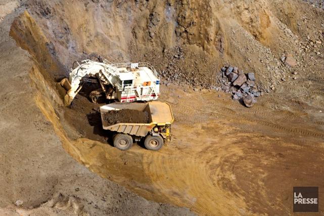 Le Québec compte 499 sites miniers qui nécessitent... (Archives La Presse)