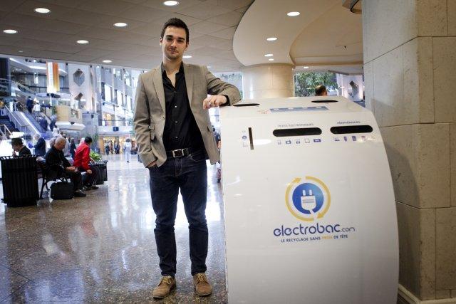 «On parle beaucoup de compostage, mais les produits... (Photo Marco Campanozzi, La Presse)