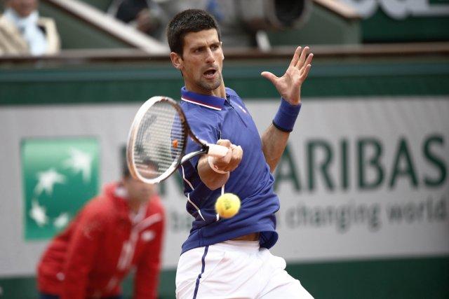 Novak Djokovic... (Photo Martin Bureau, AFP)