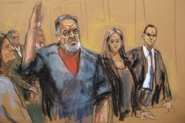Manssor Arbabsiar, 58 ans, avait plaidé coupable en... (Photo Jane Rosenberg, REUTERS)