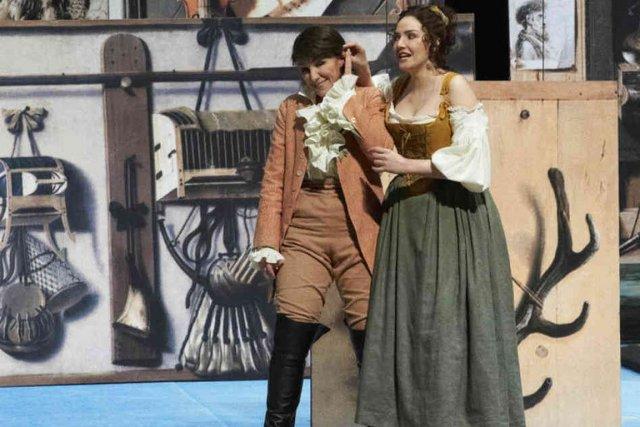 Une représentation des Noces de Figaro de Wolfgang... (PHOTO FOURNIE PAR LE STAATSOPER DE VIENNE)
