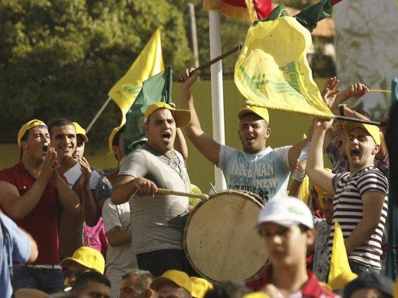 Le Hezbollah a été fondé à des fins... (PHOTO MAHMOUD ZAYYAT, agence france-presse)