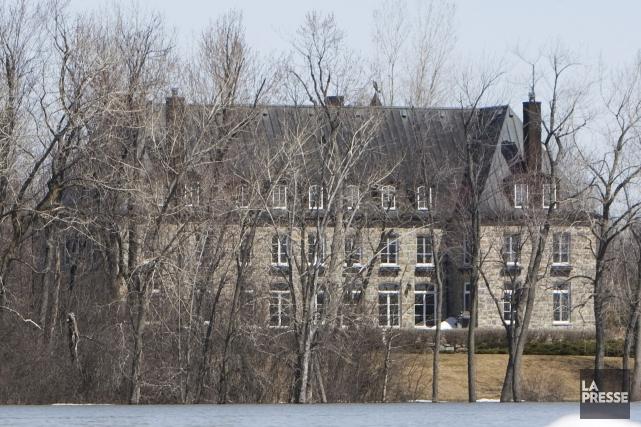L'ancienne demeure de Pauline Marois, à L'Île-Bizard.... (Photo Ivanoh Demers, archives La Presse)