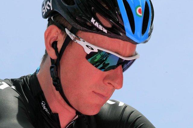 Bradley Wiggins a remporté le Tour de France... (Photo : Luk Benies, archives AFP)