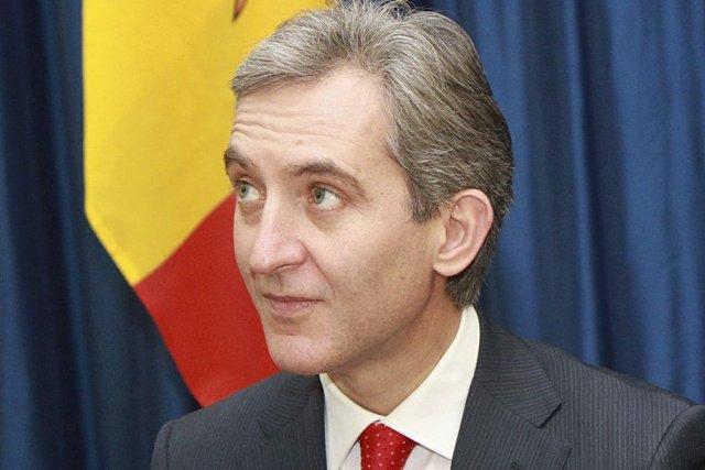 Le nouveau premier ministre de Moldavie,Iurie Leanca.... (PHOTO PETRAS MALUKAS, AFP)