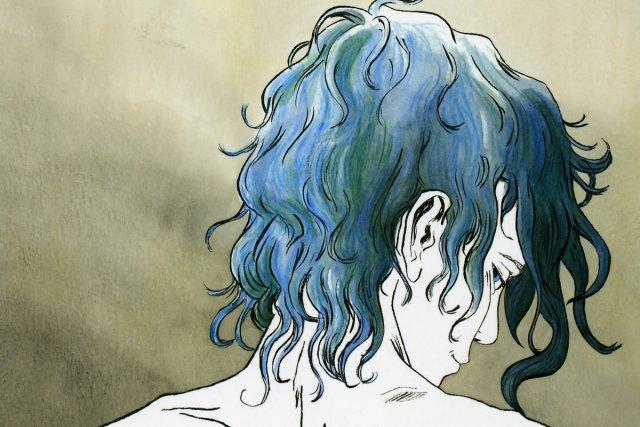 Il s'est dit beaucoup de choses sur le film La vie d'Adèle- chapitres 1&2... (Image: tirée du livre Le bleu est une couleur chaude)
