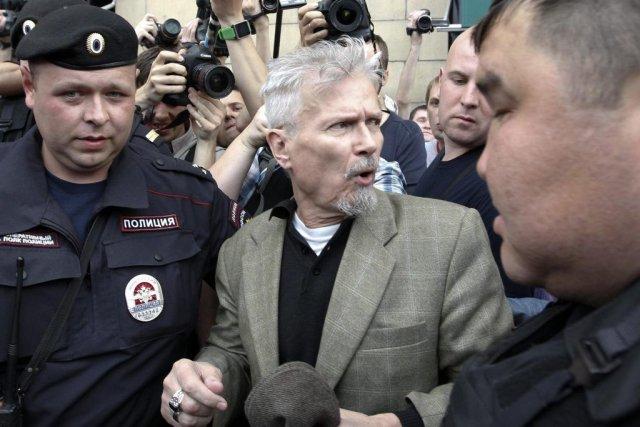 Édouard Limonov (au centre)... (Photo: Reuters)
