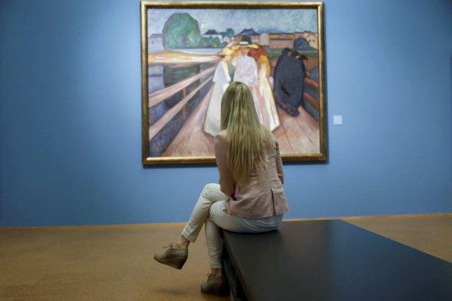 Après avoir longtemps négligé, voire malmené le peintre Edvard Munch, la  ... (Photo: AP)