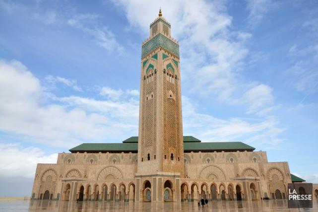 La mosquée Hassan II à Casablanca, au Maroc.... (PHOTOTHÈQUE LA PRESSE)