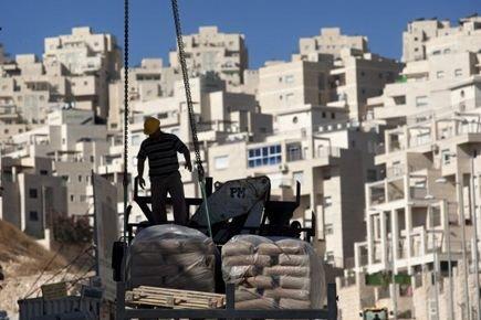 L'Union européenne a dénoncé vendredi les projets israéliens de construction de... (Photo: AP)