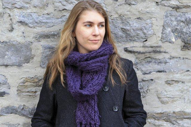 L'écrivaine française Claire Legendre est déménagée au Québec... (Photo: Hugo-Sébastien Aubert, La Presse)